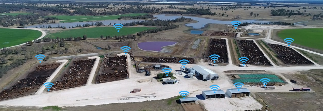 Wide Area Wi-Fi agriconnect Agriculture internet services Farm feedlot Scada & Industrial Internet of Things (IIoT)